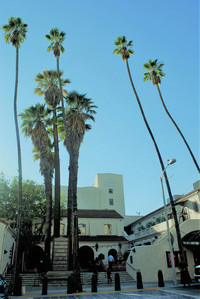 The celebrated Pasadena Playhouse is the state theater of California. Photo courtesy of Halina Kubalski.