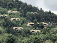 The Bisate Lodge in Rwanda is an excellent base for gorilla-trekking. Photo courtesy of Candyce H. Stapen.