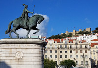 Lisbon, Portugal, is known for its charming architecture, imposing statues, friendly people and soulful fado music. Photo courtesy of www.hansentravel.org.