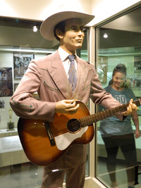 The Alabama Music Hall of Fame in Tuscumbia is home to one of the few remaining outfits Hank Williams wore on tour. Photo courtesy of Steve Bergsman.