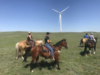 Guests at the Colorado Cattle Company Guest Ranch on the plains of the Pawnee National Grasslands in northeastern Colorado can learn every aspect of operating the ranch. Photo courtesy of Nicola Bridges.