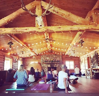 Participants in one of Yogi D's Colorado retreats enjoy yoga classes. Photo courtesy of Nicola Bridges.