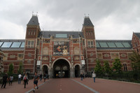 The Rijksmuseum in Amsterdam is one of the Netherlands' — and the world's — greatest treasuries of art. Photo courtesy of Barbara Selwitz.