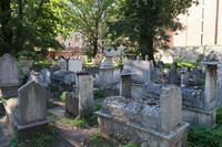 This centuries-old Jewish cemetery is in the Kazimierz area of Krakow, Poland. Photo courtesy of Barbara Selwitz.
