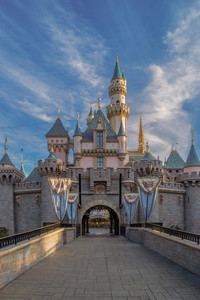 Sleeping Beauty's iconic castle welcomes visitors to Disneyland in Anaheim, California. Photo courtesy of Disneyland.