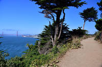 Lands End Trail offers an idyllic setting in which to enjoy San Francisco's iconic views. Photo courtesy of Donna Barnett.