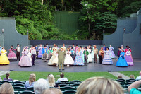 """The Stephen Foster Story"" is an outdoor musical feast in Bardstown, Kentucky. Photo courtesy of Phil Allen."