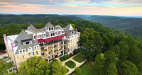 A good base for a holiday in Eureka Springs, Arkansas, is the 1886 Crescent Hotel and Spa. Photo courtesy of 1886 Crescent Hotel and Spa.