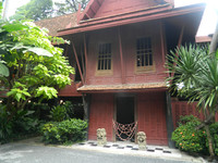 This former temple is now part of the compound at the Jim Thompson House in Bangkok, Thailand. Photo courtesy of Steve Bergsman.