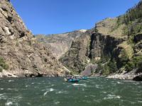 Rafters navigate Category III and IV rapids on Idaho's Salmon River. Photo courtesy of Nicola Bridges.