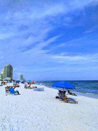 The white sand beaches of Gulf Shores and Orange Beach, Alabama, are no longer the only draw to this popular spot. Photo courtesy of gena0520@dreamstime.com.
