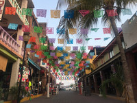 """Zihuatanejo, Mexico, where part of """"The Shawshank Redemption"""" was filmed, is a festival of color. Photo courtesy of Nicola Bridges."""