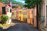 The colorful harbor town of Christiansted on St. Croix in the U.S. Virgin Islands was once capital of the Danish West Indies. Photo courtesy of Julie Salesberry/Dreamstime.com.