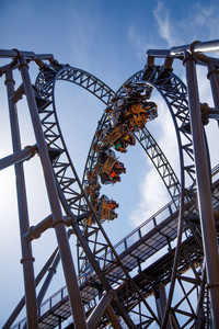 The Time Traveler at Silver Dollar City in Branson, Missouri, is the tallest, steepest and fastest roller coaster in the world. Photo courtesy of Silver Dollar City.