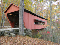 The Covered Bridge Trail is one of many ways to trace a passion through Ohio. Photo courtesy of Visit Fairfield County.