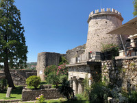 Trsat Castle in Trsat, Croatia, offers excellent views of the sea and the surrounding area. Photo courtesy of Candyce Stapen.