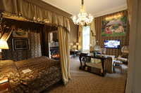 Guests at Ashford Castle in Cong, County Mayo, Ireland, are treated to sumptuous accommodations. Photo courtesy of Philip Courter.