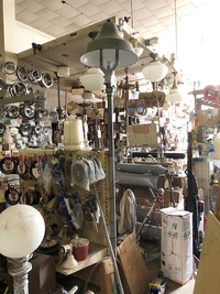 The Clarence T. Summer hardware store in Newberry, South Carolina, has been in business since 1928 and appears to have some of its original inventory. Photo courtesy of Bill Neely.