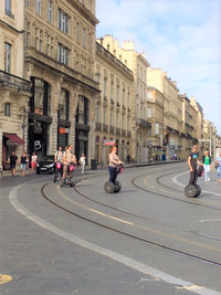 Old Town Bordeaux, France, was mostly untouched during World War II. Photo courtesy of Halina Kubalski