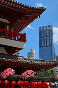The Buddha Tooth Relic Temple contributes to the beauty of Singapore. Photo courtesy of Doug Hansen.