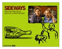 "This poster advertises the popular 2004 movie ""Sideways,"" which was filmed in California's Santa Ynez Valley. Photo courtesy of Jim Farber."