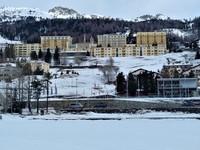 Originally a 12-room inn, the majestic Kulm Hotel overlooks Lake St. Moritz. Photo courtesy of Athena Lucero.