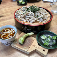 A visit to Japan includes tasting new foods, such as soba noodles. Photo courtesy of Margot Black.