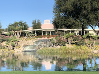 Sunnylands, the Annenberg estate on 200 acres in Rancho Mirage, California, boasts a 25,000-square-foot mansion in a desert paradise. Photo courtesy of Sharon Whitley Larsen.