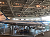 One of the attractions at the Ronald Reagan Presidential Library in Simi Valley, California, is the actual Air Force One that the president used. Photo courtesy of Kitty Morse.
