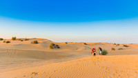 """The Dubai Desert is among places where """"The Falcon Thief"""" by Joshua Hammer unfolds. Photo courtesy of Gerold Grotelueschen/Dreamstime.com."""
