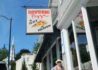 """The Julia Roberts movie """"Mystic Pizza"""" helped to put Mystic Seaport, Connecticut, on the map. Photo courtesy of Steve Bergsman."""