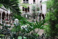 The garden at the Isabella Stewart Gardner Museum is a must-see on a trip to Boston. Photo courtesy of Barbara Selwitz.