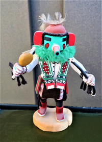 A kachina doll purchased at a Native American market brings back rich memories of meeting the people in Arizona. Photo courtesy of Victor Block.