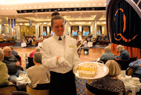 Afternoon tea with scones, cakes and a variety of teas has been a classic Cunard tradition for more than 150 years. Photo courtesy of Halina Kubalski.