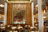 The elegant Queen Mary 2 Britannia Restaurant is the essence of the Cunard Cruise Line that dates to 1839. Photo courtesy of Halina Kubalski.