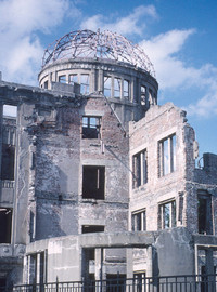 The Atomic Bomb Dome reminds visitors of the damage done in Hiroshima, Japan. Photo courtesy of Philip Courter.