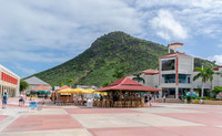 Eating, drinking and duty-free shopping abound in Phillipsburg, the capital of Dutch Sint Maarten. Photo courtesy of Enrico Powell-Dreamstime.com.