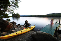 Water play ends for the day at Rangeley Lake in Maine. Photo courtesy of Brian Irwin.