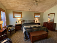 Cozy rooms at the Mountain Lake Lodge in Pembroke, Virginia, make for a nice break from city life. Photo courtesy of Mountain Lake Lodge.