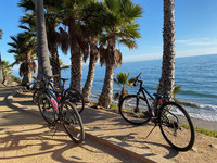 Coastal bicycling is one way to enjoy the natural wonders of Santa Barbara, California. Photo courtesy of Margot Black.