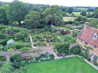 Vita Sackville-West and Harold Nicolson designed the internationally recognized 10 garden rooms at Sissinghurst Castle Garden, one of Britain's most important gardens. Photo courtesy of Athena Lucero.