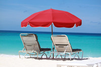 It's easy to relax seaside on one of Anguilla's 33 white sand beaches. Photo courtesy of Sabrina Fabri, Pixabay.