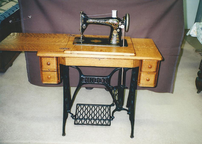 Singer Sewing Machine Was The First To Zig Zag By Anne McCollam Gorgeous Www Singer Sewing Machine Company
