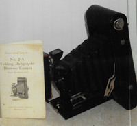 Eastman Kodak Company introduced A- 2 Folding Autographic Camera in 1915.
