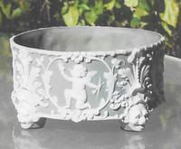 Jasperware was developed by Josiah Wedgwood in the 1700s.
