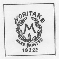 Azalea pattern was made by Noritake China Co.