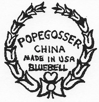Pope Gosser China Co. was founded in Coshocton, Ohio, in 1903.