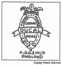 Crown Ducal Ware was made by A.G. Richardson and Co., LTD.