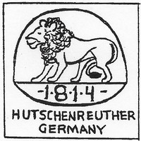 Hutschenreuther Porcelain was founded in 1814 in Germany.