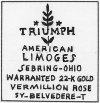 American Limoges was founded in Sebring, Ohio, in 1901.